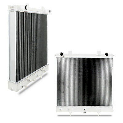 55mm TWIN CORE ALUMINIUM RACE RADIATOR RAD FOR LAND RANGE ROVER 2.5 TD P38 94-99