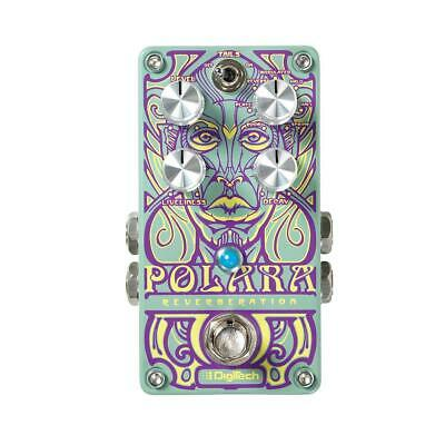 DigiTech Polara 7 Lexicon Stereo Reverb Pedal with Tails On/Off Switch #POLARA-U