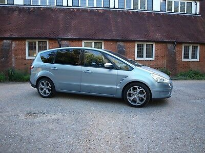 FORD S MAX TITANIUM 2.0 TDCi 7 SEATER - NEW MOT - ONLY 63000 MILES - NO RESERVE