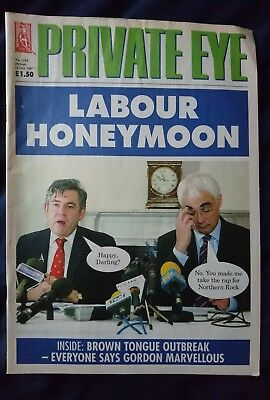 PRIVATE EYE 1194 28 Sep to 11 Oct 2007 Labour Honeymoon