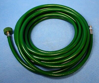25' O2 Oxygen Hose Assembly Male Hand-Thread Female DISS 1240 Anesthesia Vent