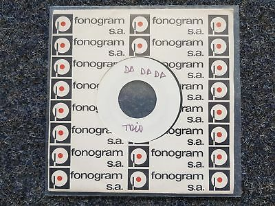 Trio/ Stephan Remmler/ Nacho - Da da da 7'' Single SPAIN PROMO TESTPRESSING