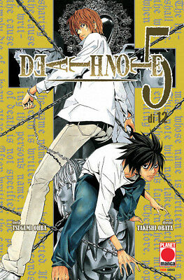 DEATH NOTE 5 - Planet Manga (Ultime Ristampe)