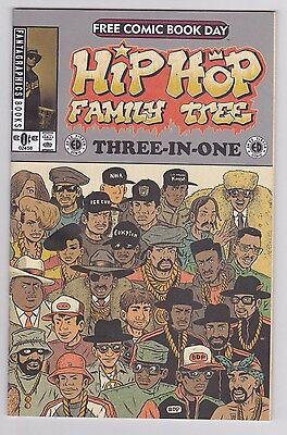 Hip Hop Family Tree  Three-In-One Free Comic Book Day 2015 #1 Fantagraphics