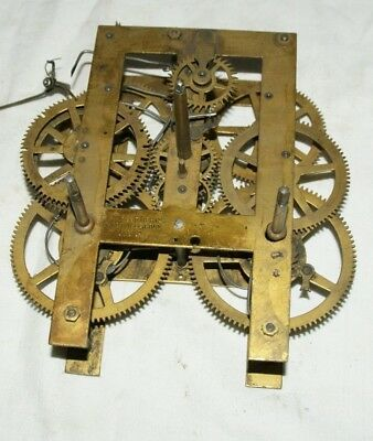 Antique E. WELCH Shelf/Parlour Clock Movement, Spares/Repair