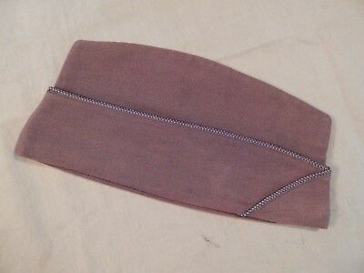 WWII U.S. Army Air Forces, Enlisted Man's Garrison Cap, Chocolate Brown Wool