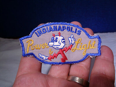 Vintage **reddy Kilowatt** Figural Shirt Patch  Indianapolis Power & Light