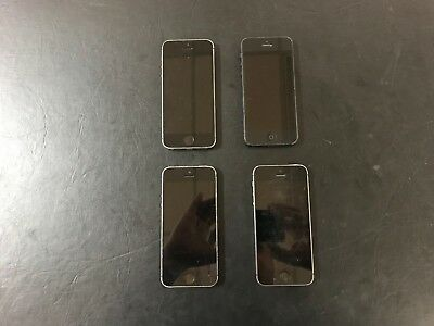 LOT of (4) Apple iPhone 5/5s Mixed iOS Smartphones - PARTS DEAL!! LOT-139