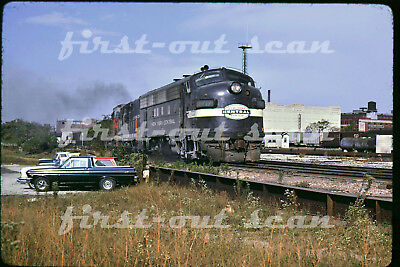 Original Slide - New York Central NYC PC 1717 F-7 Action Indianapolis IN Oct 68