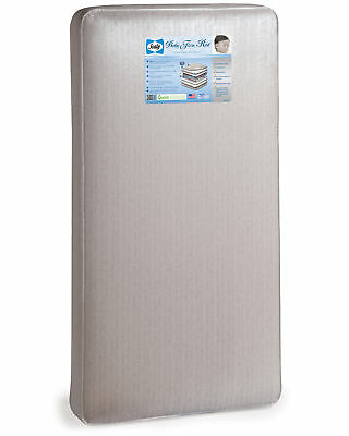 Sealy Baby and Toddler Waterproof Crib Mattress with Hypoallergenic Cushion
