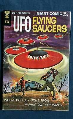 Ufo Flying Saucers #1 Invaders #1 Space Adv #60 (#1) Flying Saucers Comics #1