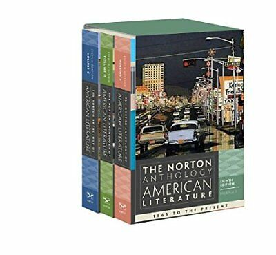 The Norton Anthology of American Literature Vol. Package 2 C D E Levine