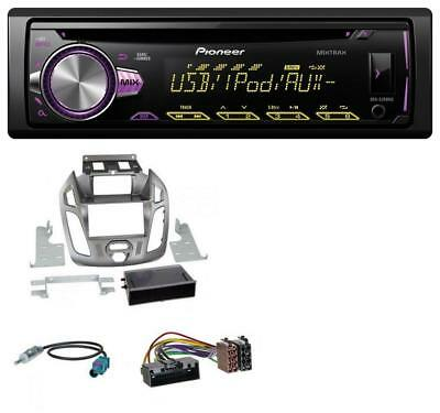 pioneer deh 80prs autoradio 1 din mit bluetooth cd usb aux. Black Bedroom Furniture Sets. Home Design Ideas
