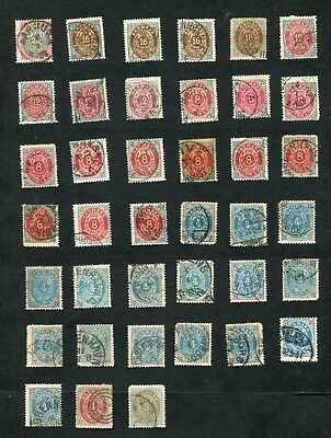 Stamp Lot Of Denmark, With Better (2 Scans)