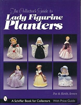 LADY FIGURINE PLANTER Collector's Guide 2000 SB VG+