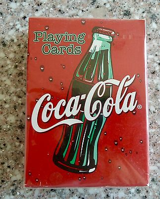 New Sealed, Coca Cola Playing Cards, Coke Bottle