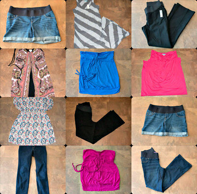 Old Navy Motherhood Sassy Maternity Clothes size 8, S, M, L Summer Fall LOT