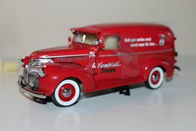 Danbury Mint The 1940's Campbells Soup Delivery Truck 1:24 New in Box