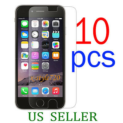 10pcs Full Front Screen Protector Guard Cover Film For Apple iPhone 6 Plus 5.5""
