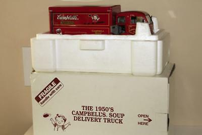 Danbury Mint White 1955 Campbells Soup Delivery Truck 1:24 Mint in Box w/ Title