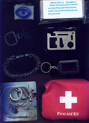 Lot Of 6 Survival, Emergency Tools & Accessories (J224) Helpful Sur/emer Devices