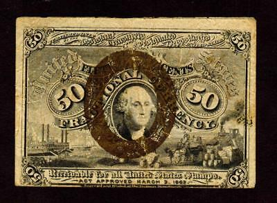50 Cent Fractional Currency 2nd issue **MORE CURRENCY FOR SALE**