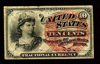 10 Cent Fourth Issue Fractional Currency **MORE CURRENCY FOR SALE**