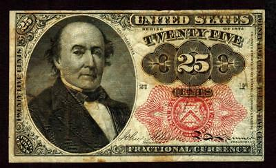 25¢ cent Fifth Issue Fractional Currency **MORE CURRENCY FOR SALE**