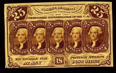 25 Cent  First Issue Fractional Currency **MORE CURRENCY FOR SALE**
