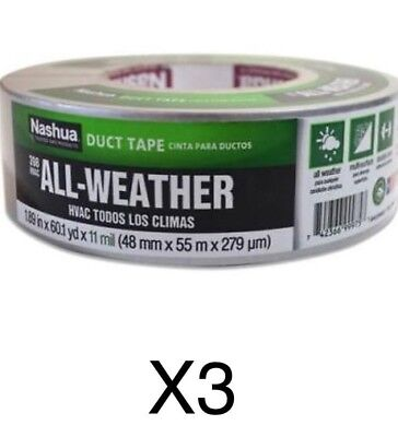1.89 in X 60 yd # AD1890601501Gr 36 Rolls ADHES DUCT TAPE SILVER