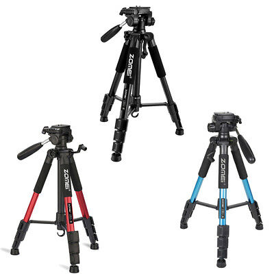 Three Color ZOMEI Q111 Professional Portable Aluminum Tripod for Camera&DSLR