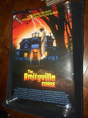 The Amityville Curse Horror Original Rolled One Sheet Poster