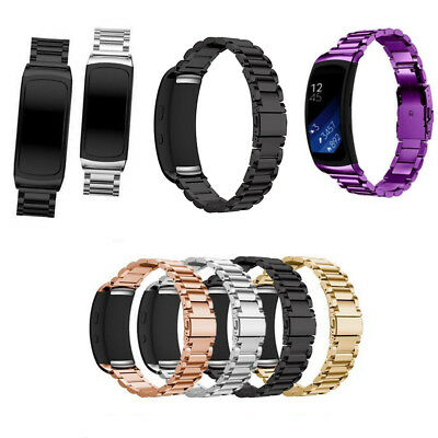 Stainless Steel Bracelet Smart Watch Band Strap For Samsung Gear Fit2 SM-R360
