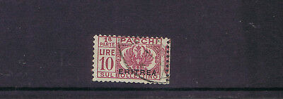 Italy Italian Colonies Eritrea 1927 small Parcel Post stamp 10L used single