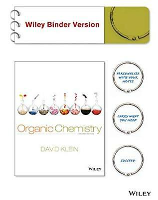 Organic Chemistry Binder Ready Version by David Klein