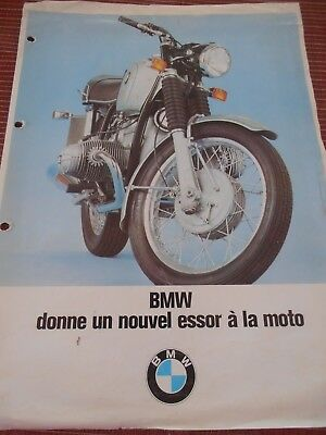 Catalogue / Pub - Bmw R 50/5 , R 60 / 5 , R 75 / 5 - Moto -   ( 29 )