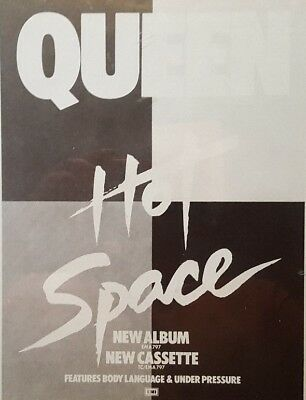 Queen -  Music Advert For Their 1982 Album : Hot Space