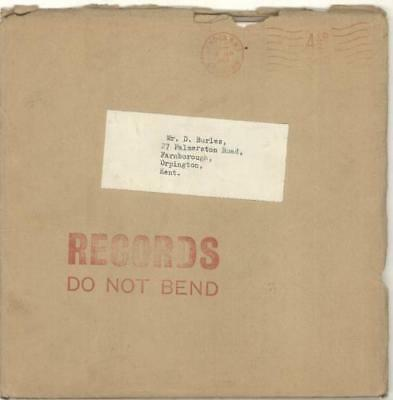 """Beatles Another Beatles Christmas Record - Complete UK 7"""" vinyl single record"""