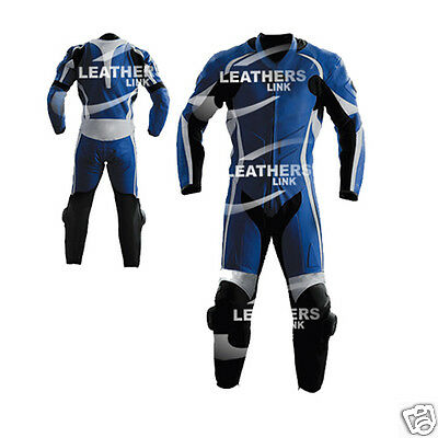 Leather Men Full Motorcycle Motorbike Racing Leather Suit MST-67-A(US 44,46,48)