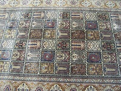 A CHARMING OLD HANDMADE PAKISTAN PERSIAN RUG (235 x 148 cm)
