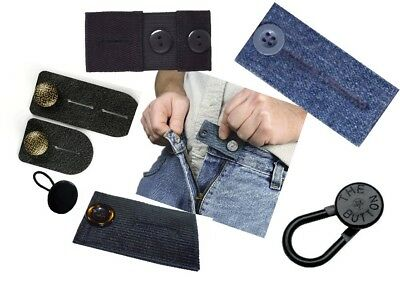 Waist Extender - Mixed Lot of 7 for both Men and Women  Pants, jeans, skirts