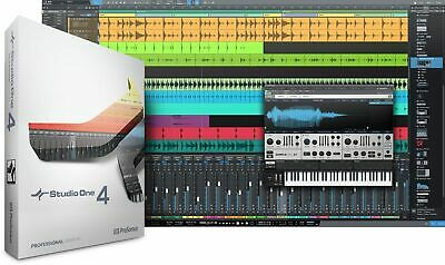 Presonus Studio One 4 Professional Upgrade from Pro/Producer Version 1/2/3 to 4