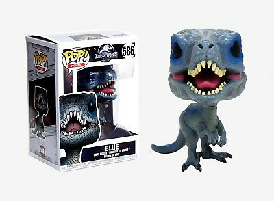 Funko Pop Movies: Jurassic World - Blue Vinyl Figure Item #30980