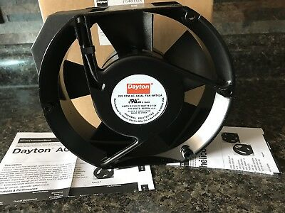 New Dayton AC Axial Fan 115 V 4WT42A CFM 239