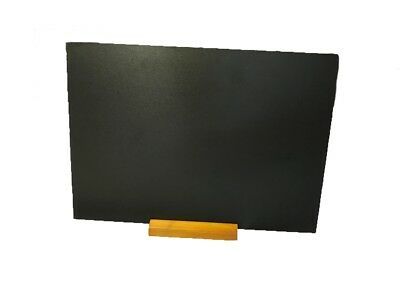Landscape A3 Table Top Blackboard & Stand Menu Notice Display Chalk Board Zhja3