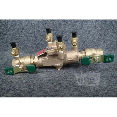 Watts 3/4 009M3-QT 3/4in Backflow Preventer Reduced Pressure Zone Assembly