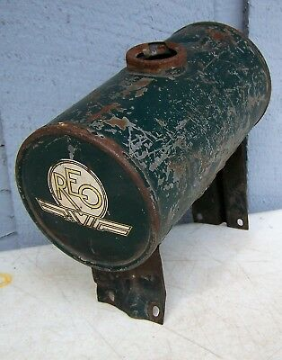 Vintage Ransom Olds REO Car Engine Small GAS TANK Part