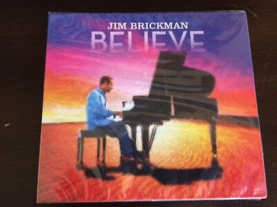 Believe by Jim Brickman (CD, Jul-2017, Newbourne Media)
