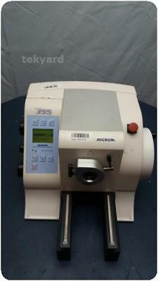 Microm Hm 355 S-2 905130 Automated Rotary Microtome @ (205115)