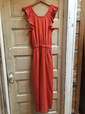 0335530a82bb NWT ULLA JOHNSON Viola Jumpsuit In Chili Size 6 -  198.00